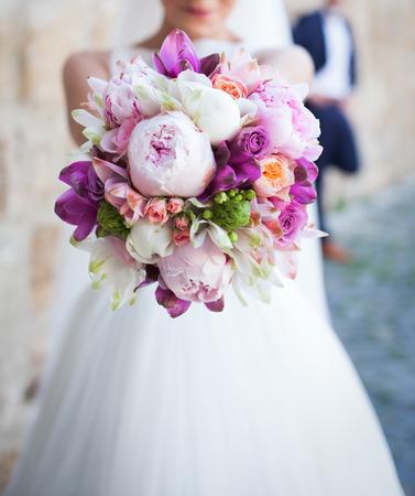 Foto de Wedding bouquet - Imagen libre de derechos