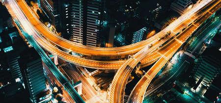 Photo pour Tokyo, Japan cityscape view from high above - image libre de droit