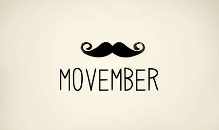 Photo for Movember - raise awareness of mens health issues - Royalty Free Image
