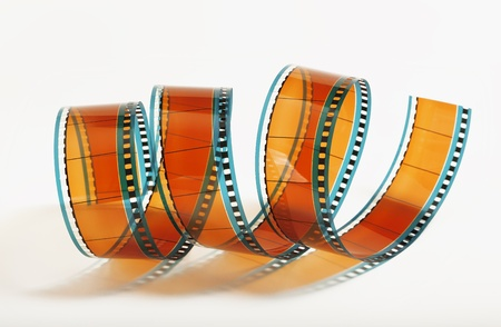 Foto per Flmstrip 35 mm a spirale - Immagine Royalty Free