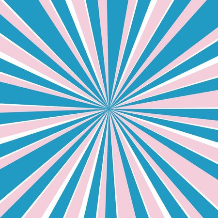 Illustration for Blue Sunburst Pattern Abstract Background. - Royalty Free Image