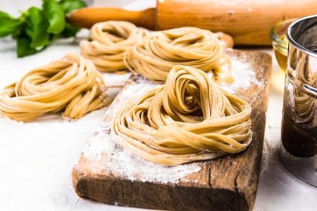Foto per Making healthy italian pasta at home. - Immagine Royalty Free