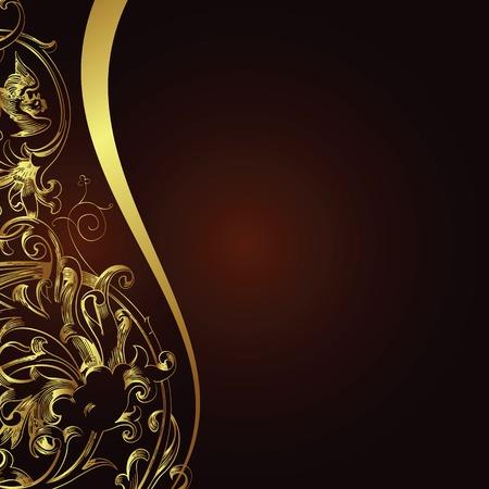 Ilustración de floral design background - Imagen libre de derechos