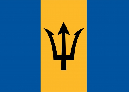 national flag of barbados country. world barbados background wallpaper