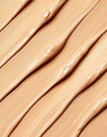 Photo pour Background of makeup foundation - image libre de droit