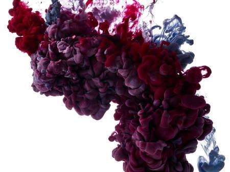 Foto für Abstract paint splash on white background - Lizenzfreies Bild