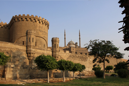 Ancient citadel of Cairo. Egypt.