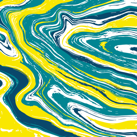 Illustration of marble texture in diverse colors.