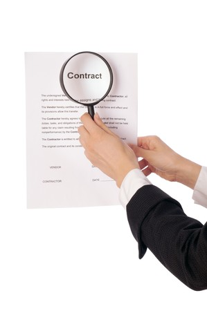 The new worker seeking inconvenient features of contract