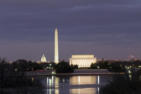 Washington DC At Night