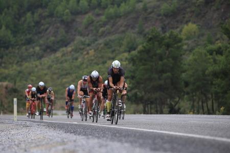 Photo pour Ironman 70.3 Turkey - image libre de droit