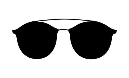 9efb044d524 Vector glasses illustration isolated on white background. model icon ...