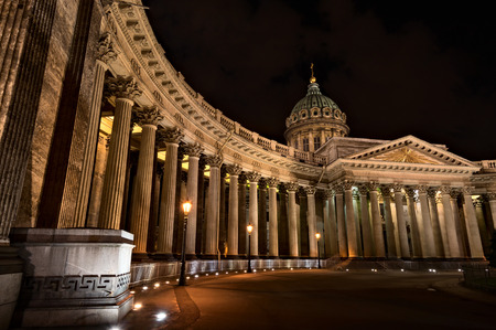 Kazan Cathedral in Saint-Petersburg. Was built in 1811