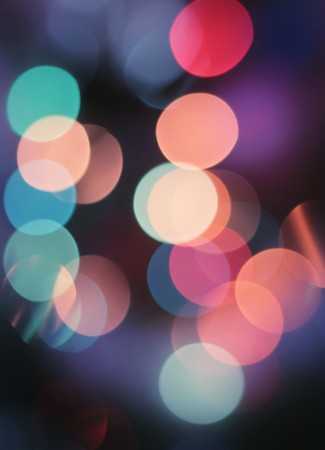 Abstract spots of lights