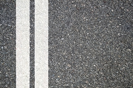 Photo for Pattern of asphalt texture with two lines - Royalty Free Image