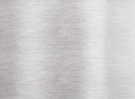 Brushed aluminum metal surface
