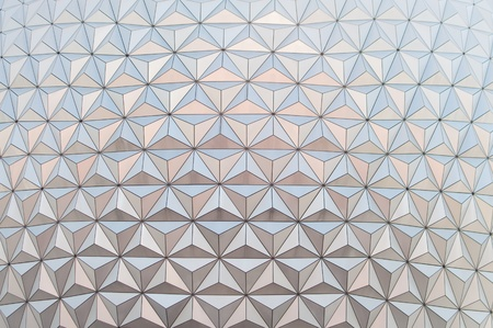 Geodesic dome background