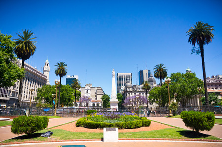 Beautiful view of Buenos Aires capital of Argentina