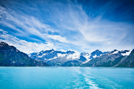 Photo for Glacier Bay in Mountains in Alaska, United States - Royalty Free Image
