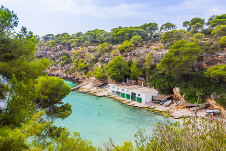 Beautiful view of Cala Pi Bay, Mallorca, Baleares, Spain