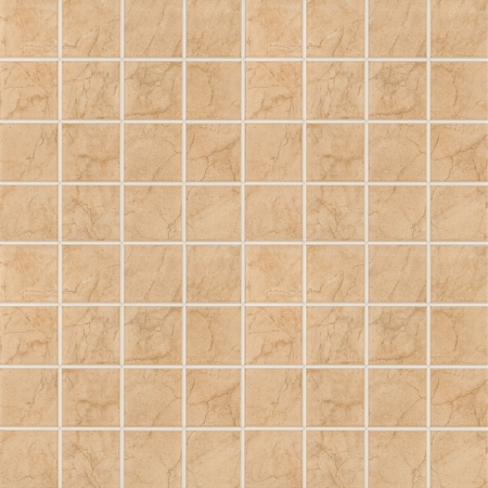 Brown mosaic texture background. (High res.)