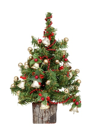 Photo for decorated mini christmas tree - Royalty Free Image