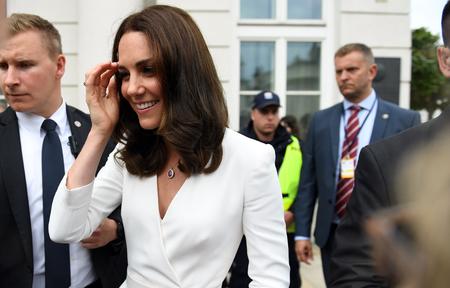 JUNE 17, 2017: The Duke and the Duchess of Cambridge visit in Polando / p Kate Middleton