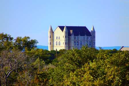 Castle in Hill country