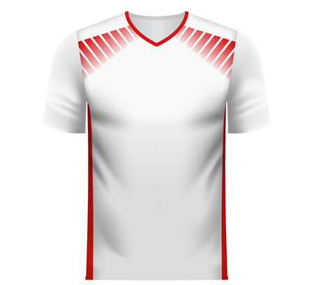 Tunesia national soccer team shirt in generic country colors for fan apparel.