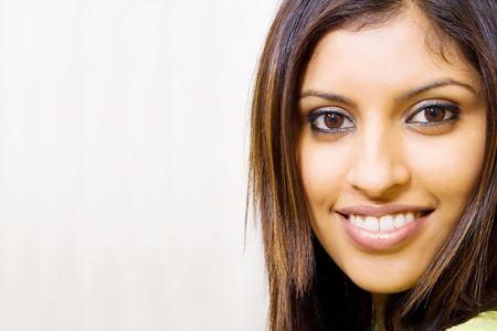 beautiful arabian woman portrait