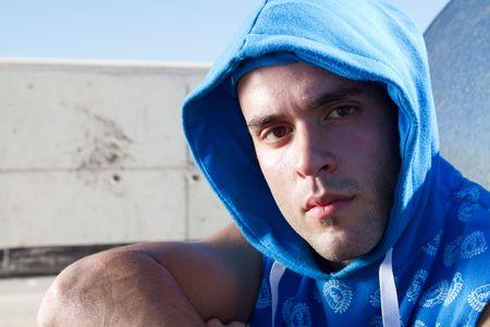european hip hop man
