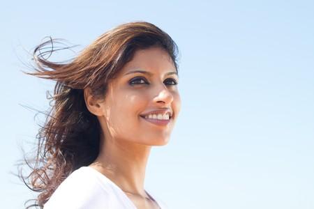 portrait of beautiful arabic woman