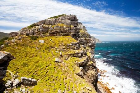 Photo pour scenery of cape of good hope, south africa - image libre de droit