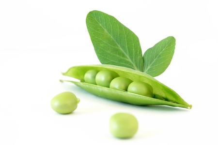 Bean and pea leaves