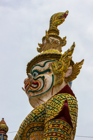 Thai giant statue