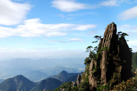 Beautiful Scenery of Sanqing Mountain in Jiangxi Province China