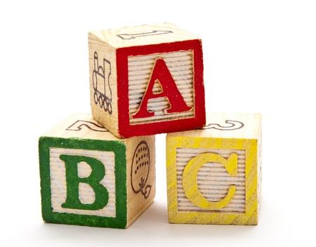 Foto de ABC Blocks - Imagen libre de derechos