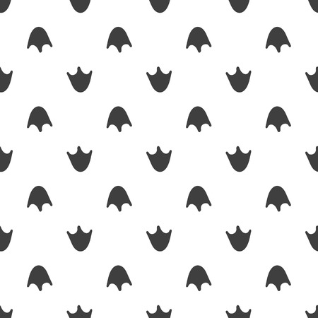 seamless pattern animal foot vector background illustration duck on white background footprint royalty free vector graphics seamless pattern animal foot vector