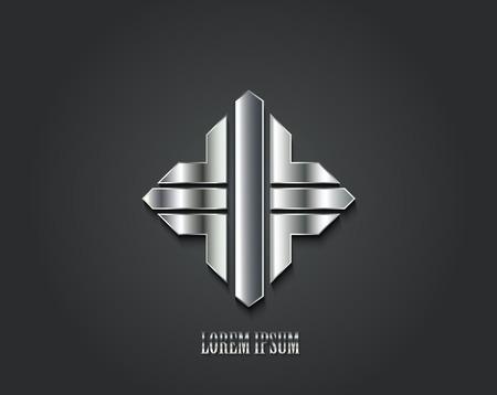 Creative logo design. Vector illustration