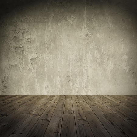 Photo pour Grunge wall, vintage aged old interior stained background 1 - image libre de droit