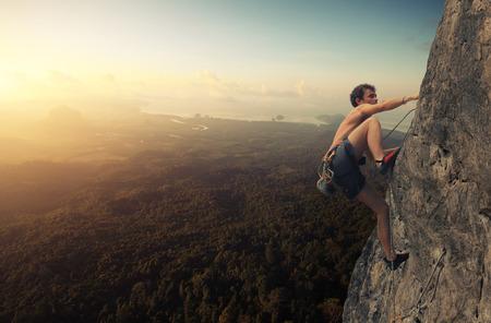 Foto de Climber - Imagen libre de derechos