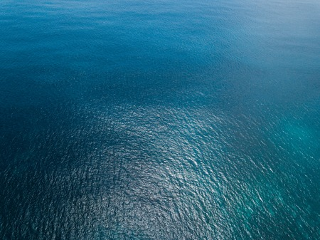 Photo for Aerial view of sea surface - Royalty Free Image
