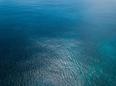 Foto de Aerial view of sea surface - Imagen libre de derechos