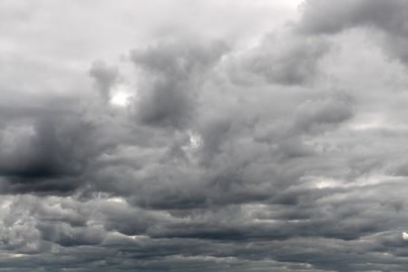 dull cloudy gray overcast sky background