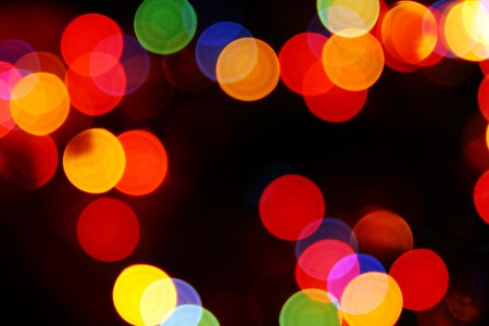 defocused colored circular lights backgrounds