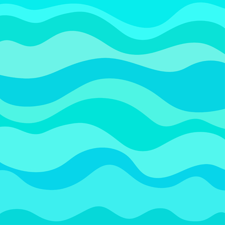 Nautical wallpaper. Pattern with lines and waves. Multicolored texture. Abstract dynamic background. Cold colors. Doodle for design. Art creative. Decorative style. Line art creation.