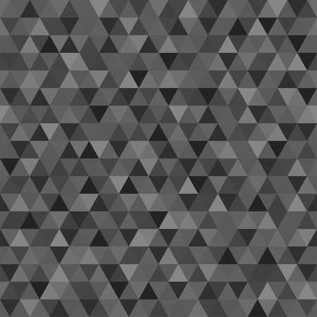 Seamless triangle pattern. Colorful wallpaper of the surface. Tile background. Print for polygraphy, posters, t-shirts and textiles. Unique texture. Doodle for design