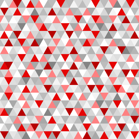 Seamless triangle pattern. Abstract geometric wallpaper of the surface. Tile background. Print for polygraphy, posters, t-shirts and textiles. Unique texture. Doodle for design