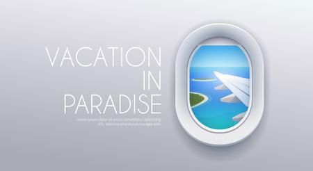 Ilustración de View from plane View from airplane. - Imagen libre de derechos
