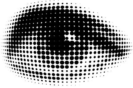 dots human eyes